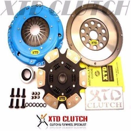 XTD STAGE 4 CLUTCH & 9LBS FLYWHEEL VW GOLF JETTA CORRADO VR6 GTi 2.8L (SPRUNG)