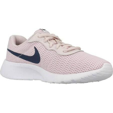 2b7f569d288 Nike - Nike 818384-600  Girl s Tanjun Barely Rose Navy White Sneaker (7 M  US Big Kid) - Walmart.com