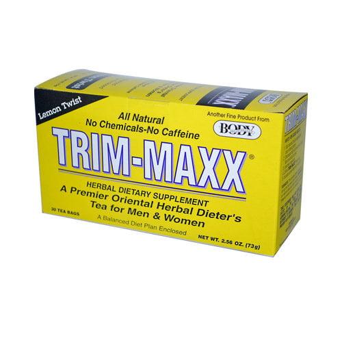 Body Breakthrough Diet Trim-Maxx Tea Lemon - 30 Tea Bags (Pack of 3)