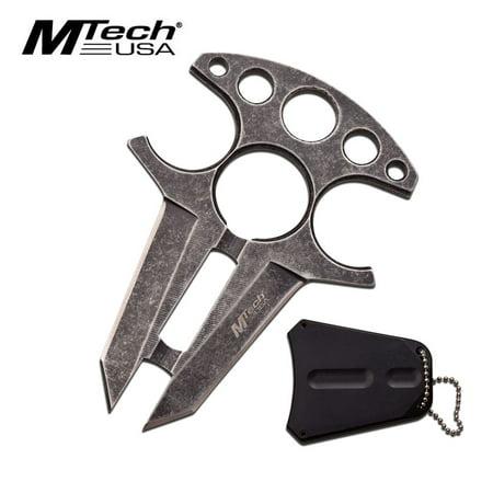 Gray Fixed Blade Knife (MTech USA Fixed Blade Knife)