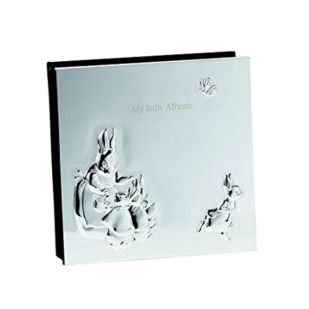 Wedgwood PETER RABBIT SILVER PHOTO ALBUM (Peter Rabbit Silver Plated)