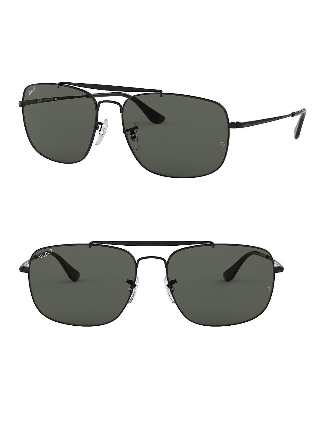 Ray-Ban Men's RB3560 Colonel Sunglasses, 61mm