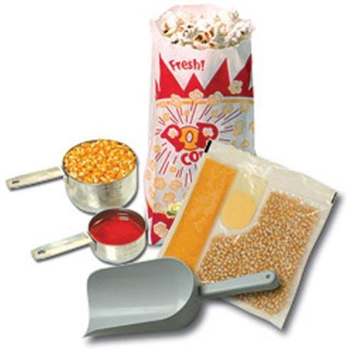 Benchmark USA 45006 Popcorn Starter Kit for 6 Oz.  poppers