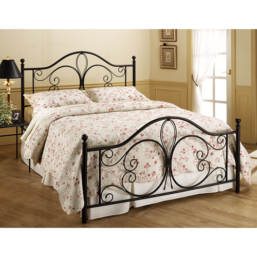 Milwaukee Queen Bed, Antique Brown (Box 1 of 2)