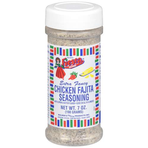 Bolner's Fiesta Brand Seasoning Chicken Fajita, 7 oz