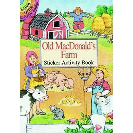 Old MacDonald's Farm Sticker Activity Book (Paperback)