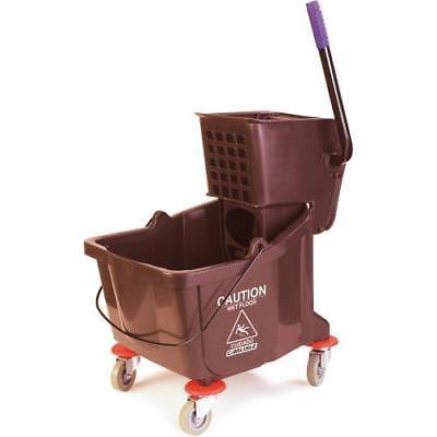 Carlisle 3690469 Mop Bucket Combo, 35 qt., with side press wringer