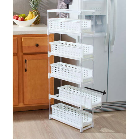The Lakeside Collection 5-Tier Sliding Drawer Storage