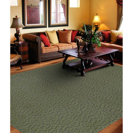 Garland Ivy Pattern Area Rug ()