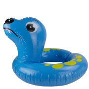 """22"""" Inflatable Blue Sea Lion Swimming Pool Tube Ring Float"""
