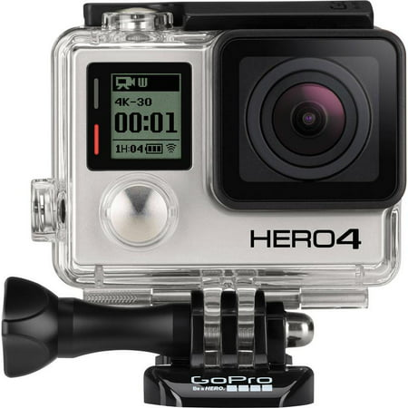 GOPRO HERO 4 BLACK Edition Waterproof 4k 12MP Photos Action Camera -