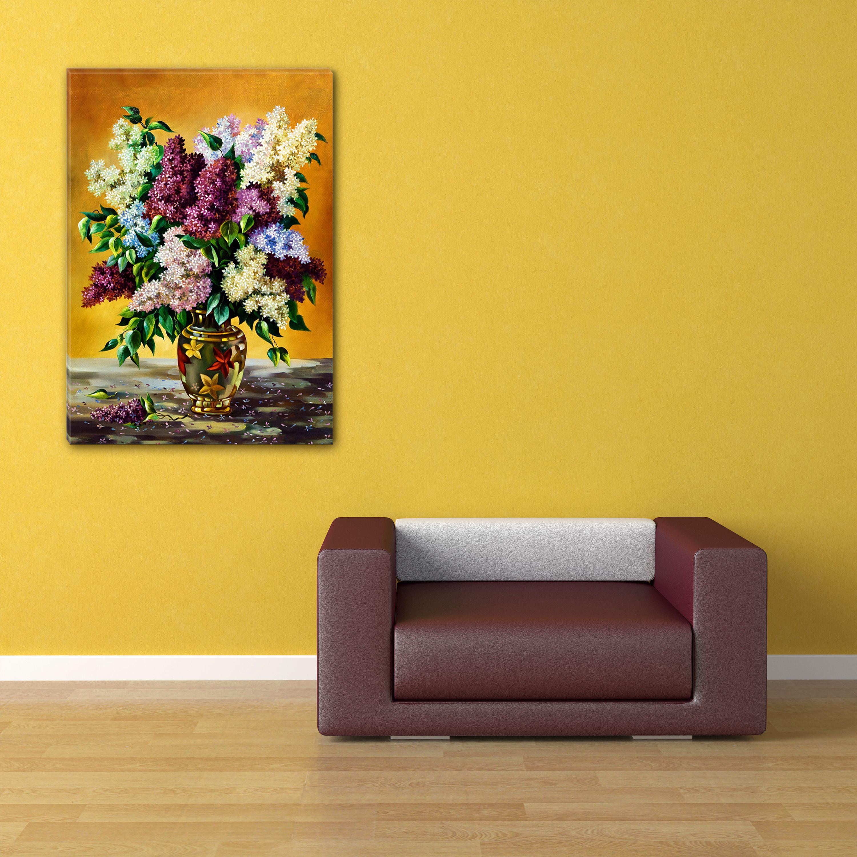 Startonight Canvas Wall Art Sexy Multicolor Lilac Flower USA Design ...