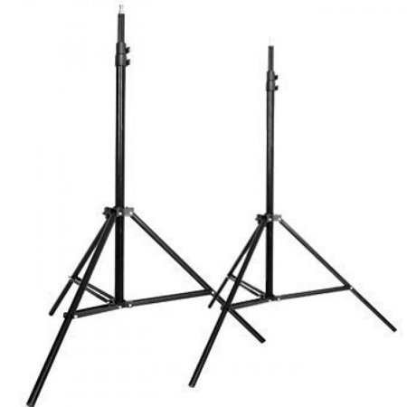 CowboyStudio Set of Two 7 feet Photography Light Stands with