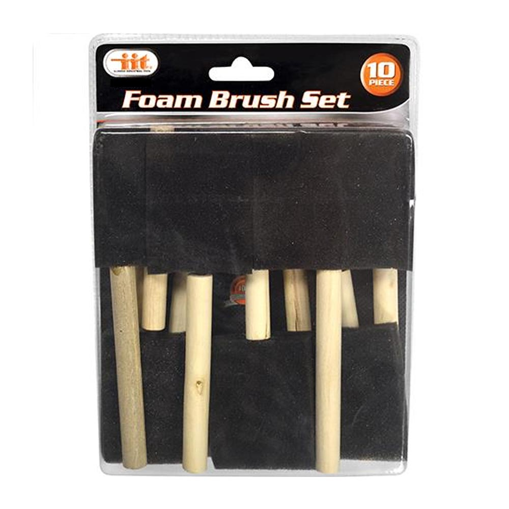 "20 Pc Disposable Paint Foam Brushes 3"" 2"" 1"" Brush Tool Fabric Painting Crafts !"