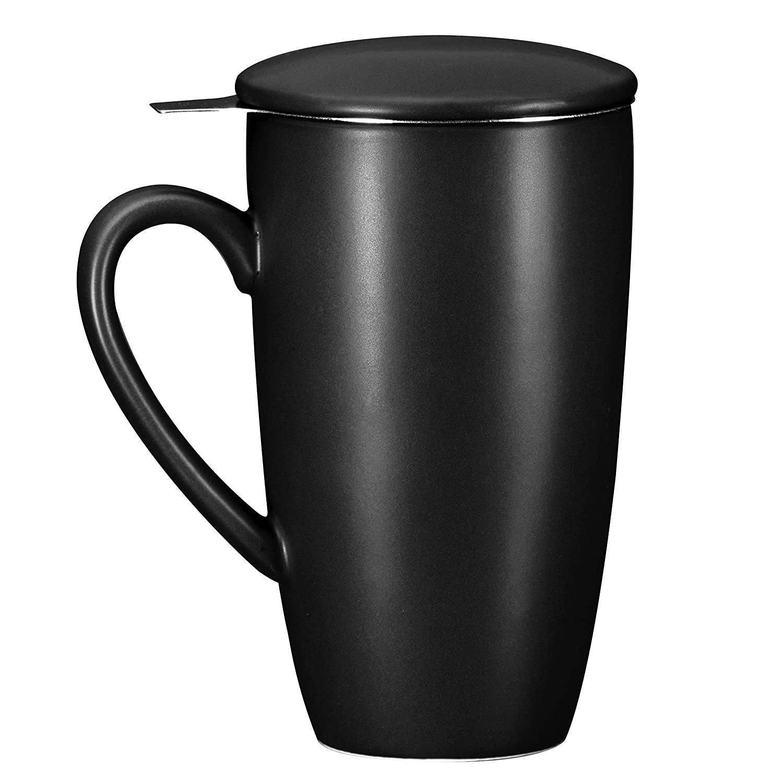 Bruntmor Ceramic Tea Infuser Mug With