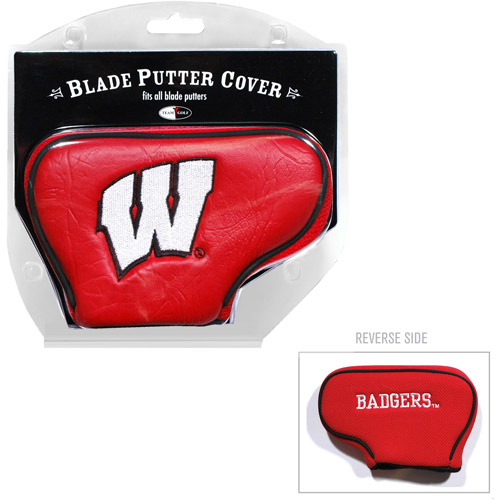Team Golf NCAA Wisconsin Golf Blade Putter Cover