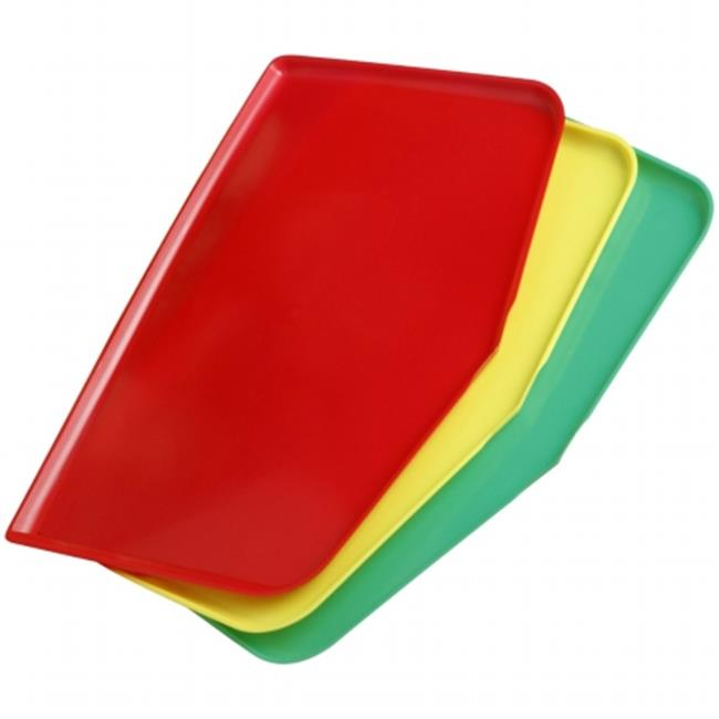 Argee Corp RG909 Chop Keeper Chopping Tray - Red  Yellow and Green