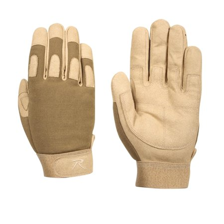 (Rothco Lightweight All Purpose Duty Gloves, Coyote Brown)