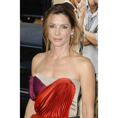 Sandra Bullock At Arrivals For All About Steve Premiere Graumans Chinese Theatre Los Angeles Ca August 26 2009 Photo By Roth Stockeverett Collection Photo Print