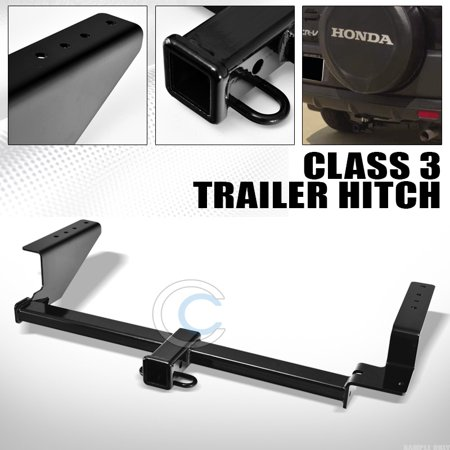 R&L Racing Class 3 Trailer Hitch Receiver Rear Bumper Tow Kit 2