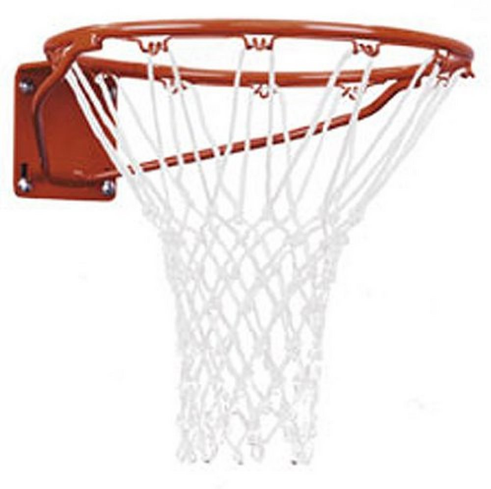 First Team Heavy Duty Front Mount Fixed Basketball Goal