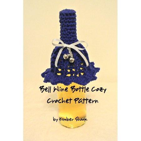Bell Wine Bottle Cozy Crochet Pattern - eBook