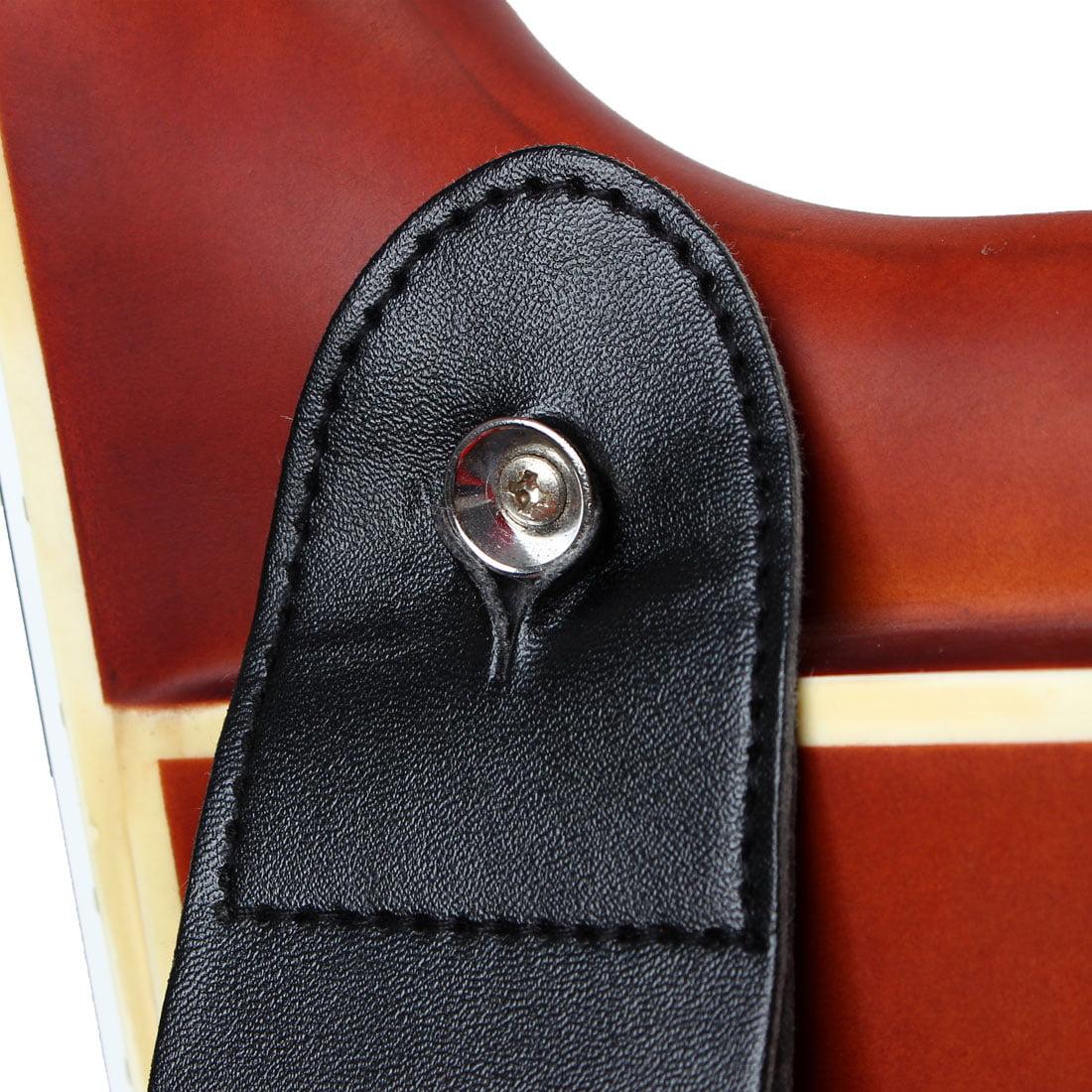 Nylon Bass Belt Adjustable Electric Guitar Strap 80-140cm Length Green - image 4 de 6