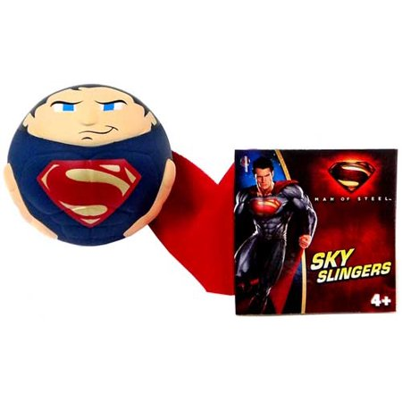 Sky Slingers Superman Ball Figure [Blue - Superman Returns Suit