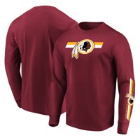 9a7ec2331 Product Image Washington Redskins Majestic Big   Tall Dual Threat Long  Sleeve T-Shirt - Burgundy