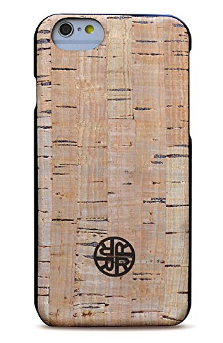 Coque en bois pour iPhone 6 / 6s - Coque pour iPhone 6 / 6s en bois de liège véritable par Reveal Shop - Cuir de liège naturel, conception écologique ...
