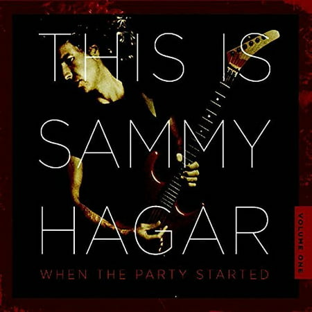 This Is Sammy Hagar: When The Party Started (CD) (Sammy Hagar The Best Of Sammy Hagar)