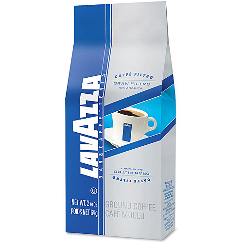 Lavazza Gran Filtro Arabica Blend Whole Bean Italian Light Roast Coffee, 2.2 lbs