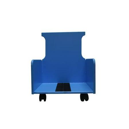 Skillbuilders® 2-piece mobile floor sitter, wood base ONLY, medium