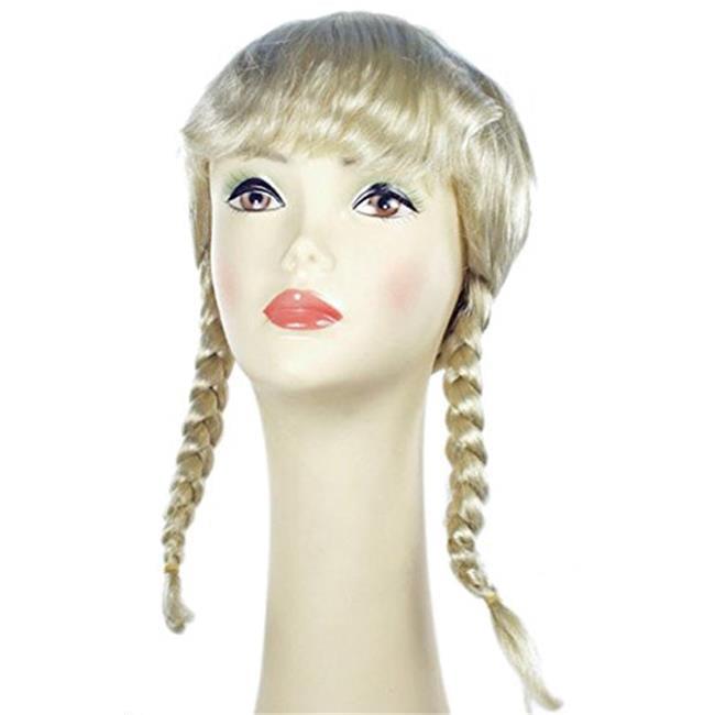 Lacey Wigs LW266CBL Dutch Girl Bargain Wig - Champagne Blonde - image 1 de 1