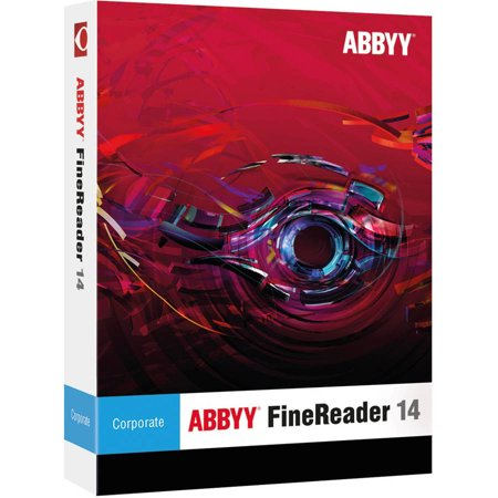 ABBYY FRCFW14E ABBYY FineReader 14 Corporate ESD (Digital (Abbyy Finereader 8-0 Professional Edition Portable Exe)