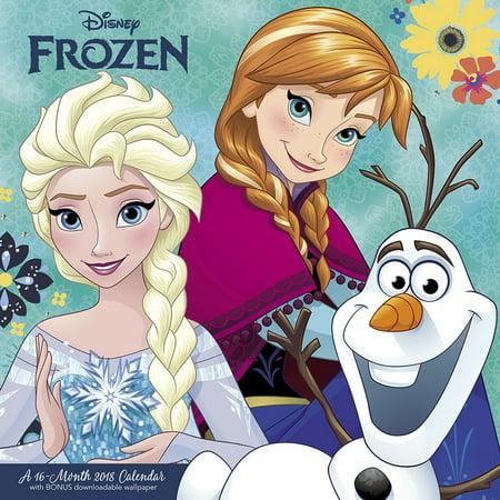 Disney Frozen Wall Calendar, Disney Frozen by ACCO - Disney Halloween 2017 Calendar