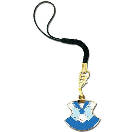 Cell Phone Charm - Sailor Moon - New Sailor Mercury Costume Licensed ge17506