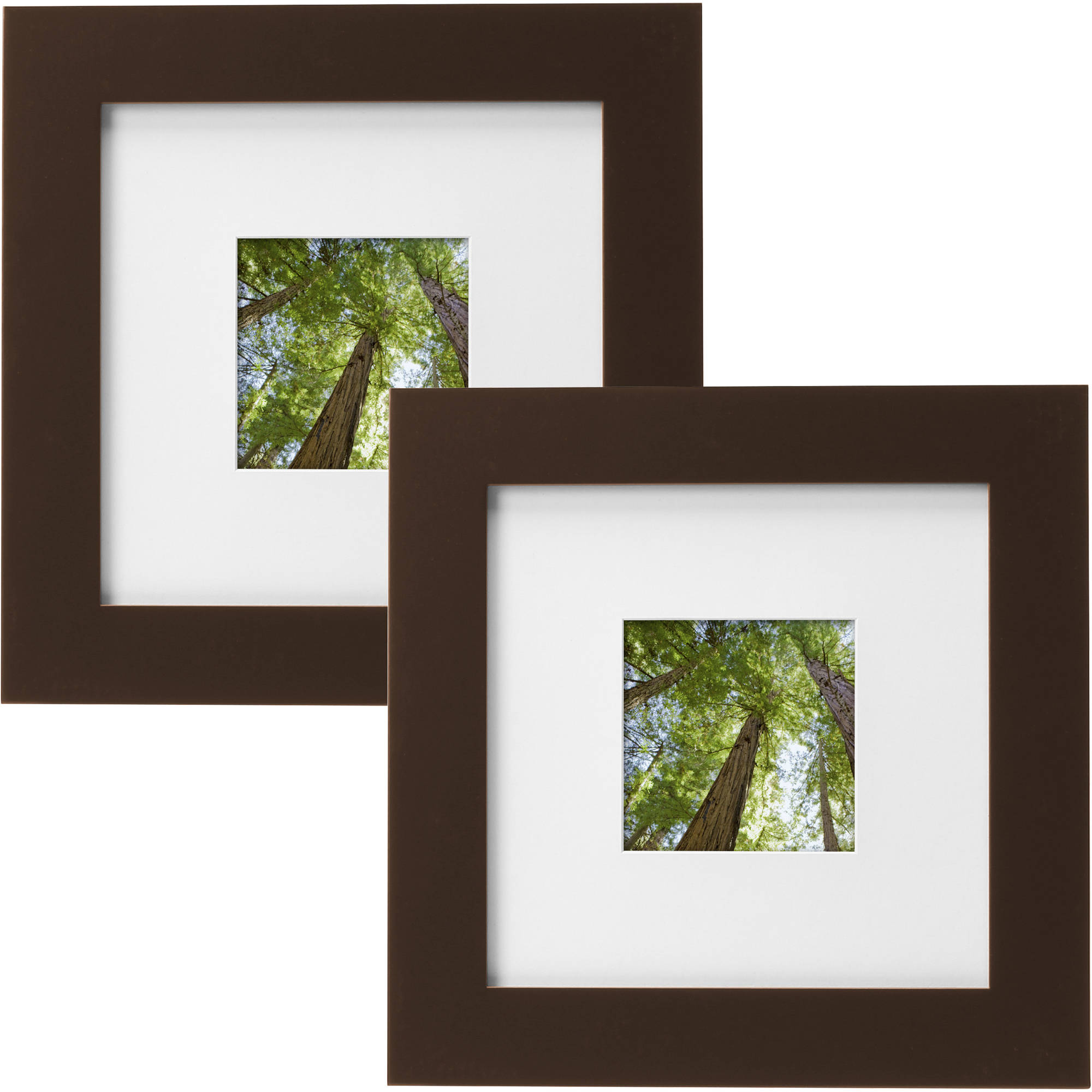 Mainstays Museum 8 Quot X 8 Quot Matted To 4 Quot X 4 Quot Solid Wood