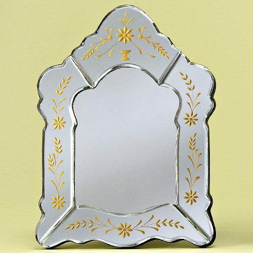 Crisselle Tabletop Venetian Mirror - 11W x 15H in.