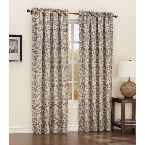 Sun Zero Cortland Room-Darkening Woven Curtain Panel