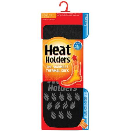 (Grabber Heat Holders Men's Slipper Sock)