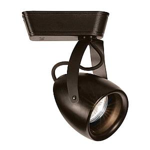 Voltage Track Lighting Fixture - WAC Lighting LED820 Impulse LED Low Voltage Track Fixture Dark Bronze