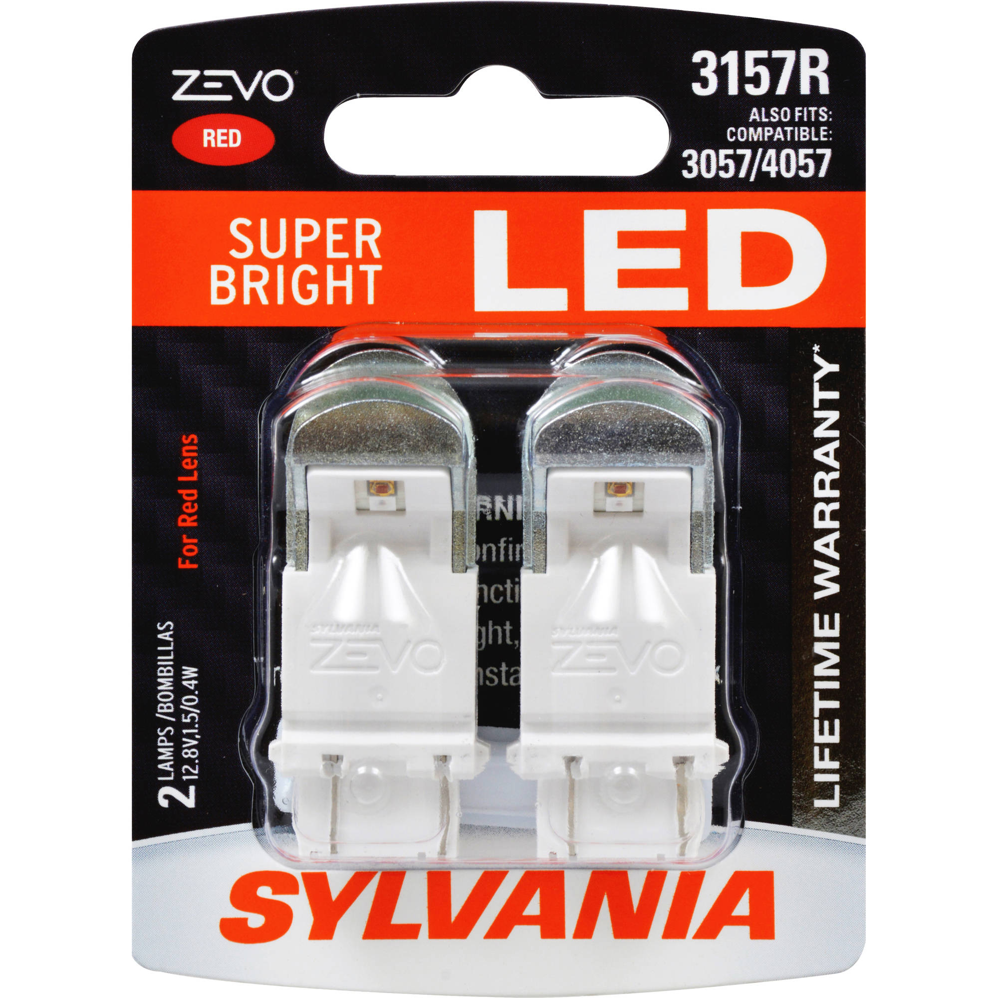 3157R ZEVO LED Bulbs, 2-Pack
