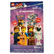 LEGO Movie 32 Valentines Cards with Stickers