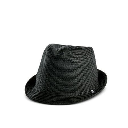dc34681aecf Block Headwear M L Braided Paper Straw Fedora Hat - Walmart.com
