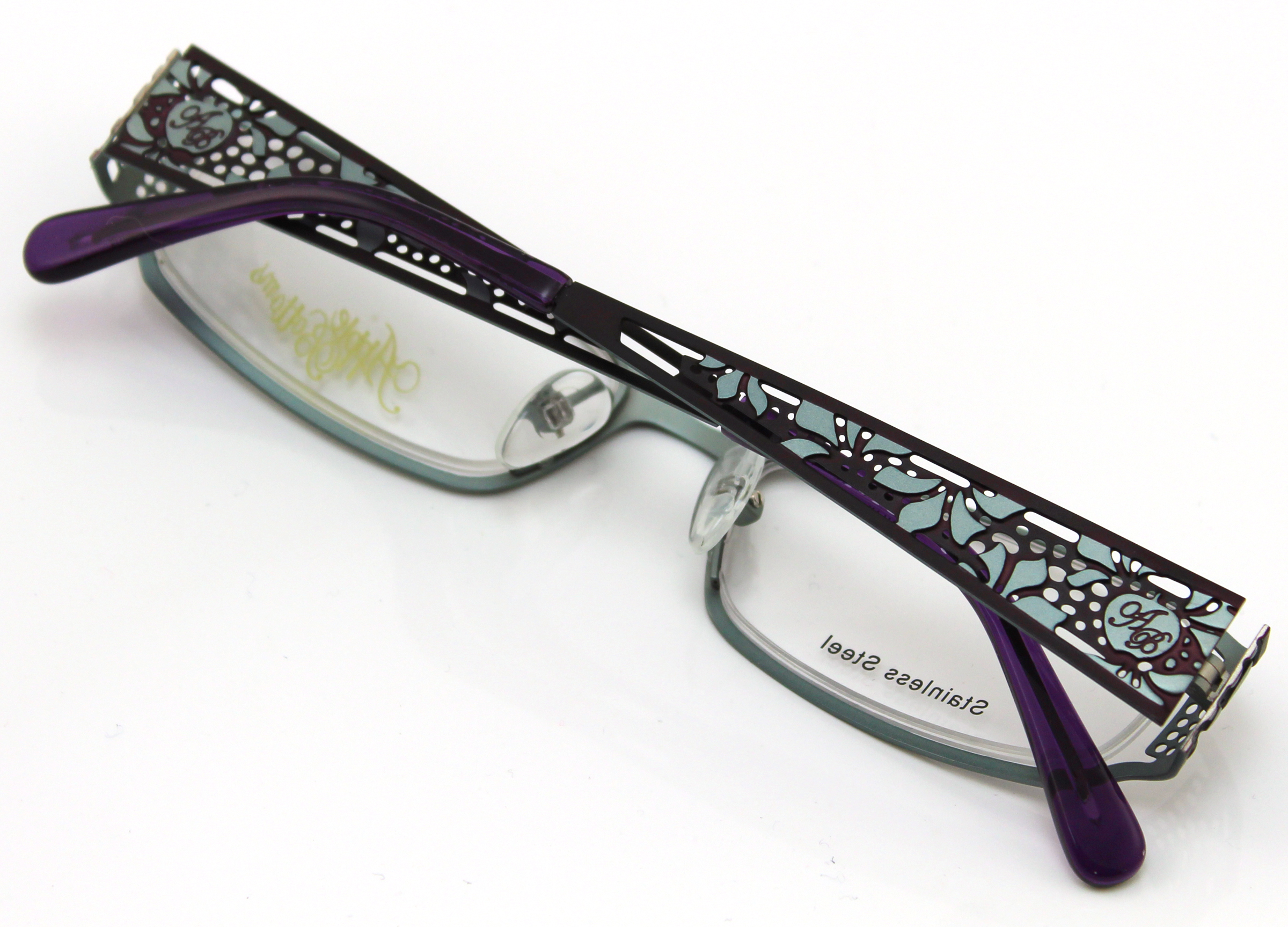 Apple Bottoms Womens Prescription Glasses, AB702 Purple - Walmart.com
