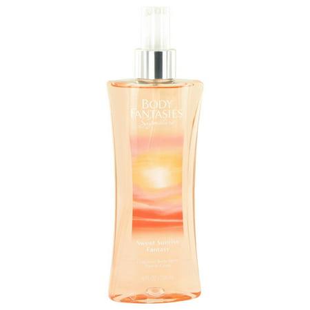 Body Fantasies Signature Sweet Sunrise Fantasy Body Spray for Women 8 oz