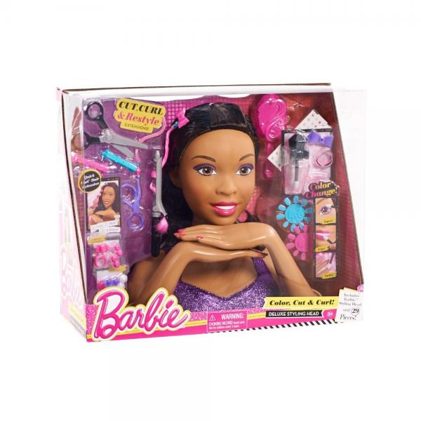Just Play Barbie Deluxe Styling Head (AA)