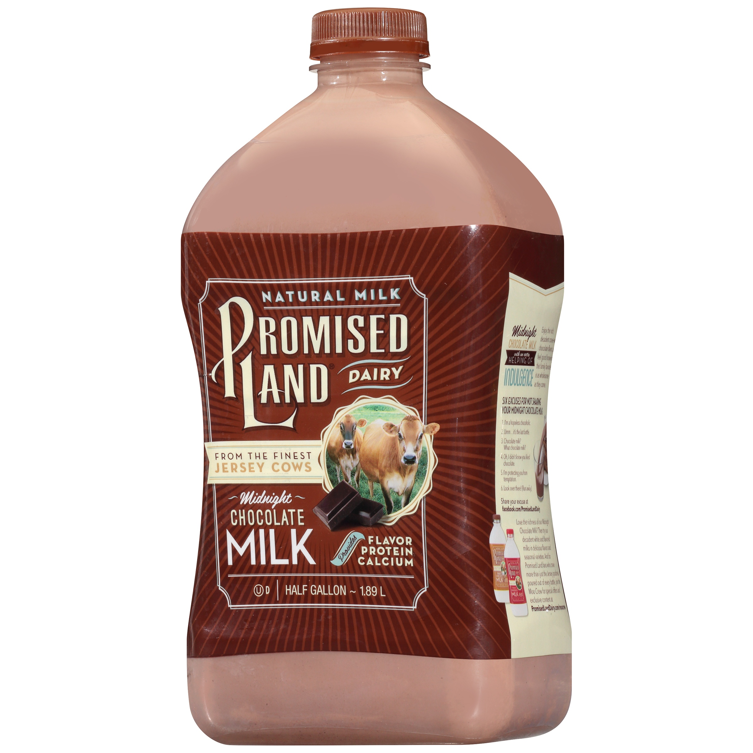 Promised Land Chocolate Milk - Pumpkin Chocolate Chip Cookies