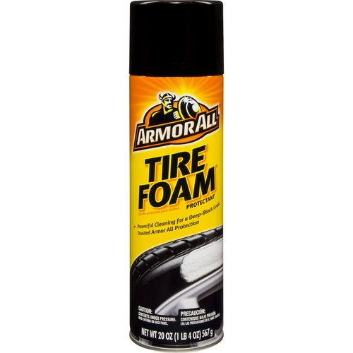 Armor All Tire Foam Protectant, 20 oz, Tire Cleaning